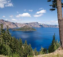 Summer Time At Crater Lake by Diane Schuster