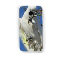 cocky in a tree Samsung Galaxy Case/Skin
