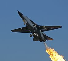 F-111 Takeoff Dump and Burn - Amberley Airshow 2008 by Daniel McIntosh