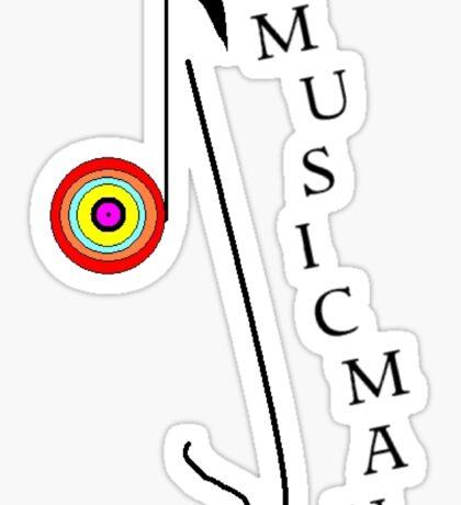 Musicman. Sticker