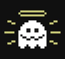 8-Bit Holy Ghost by Javis  White
