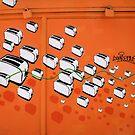 London Toaster Street Art by jahina