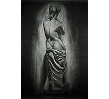 Woman Statue Photographic Print