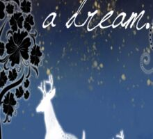 Once Upon a Dream Sticker