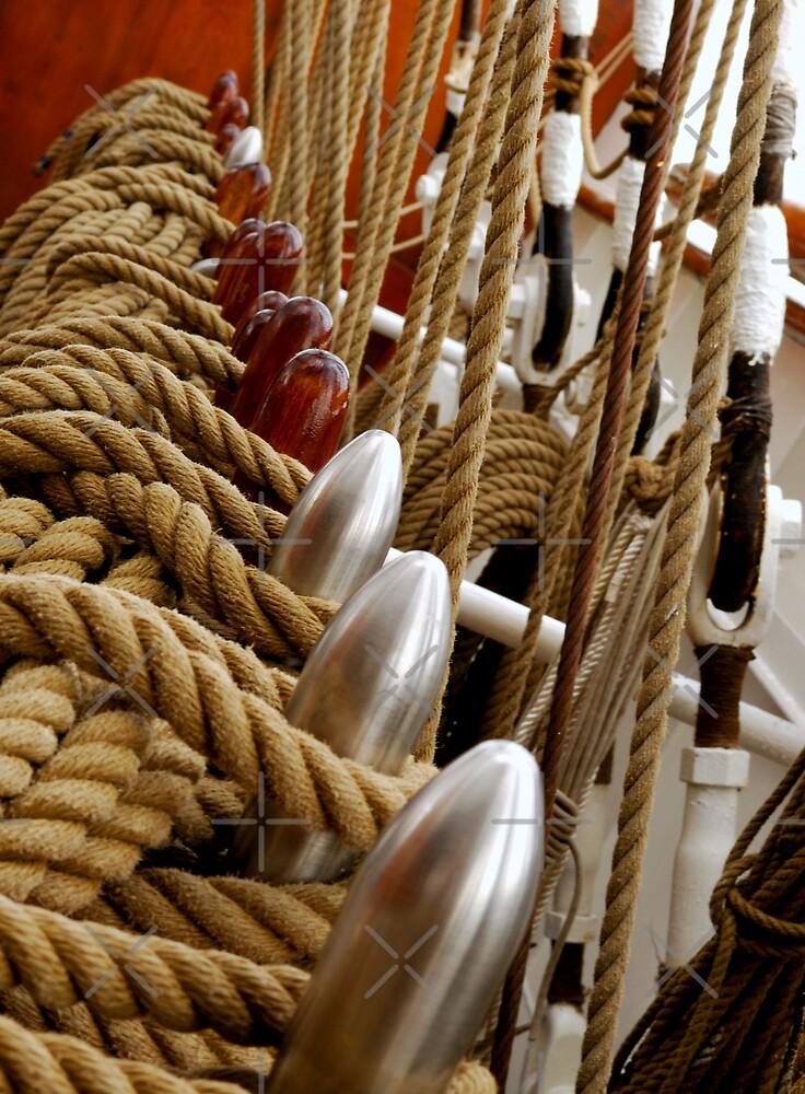 Rope Rigging by blueguitarman