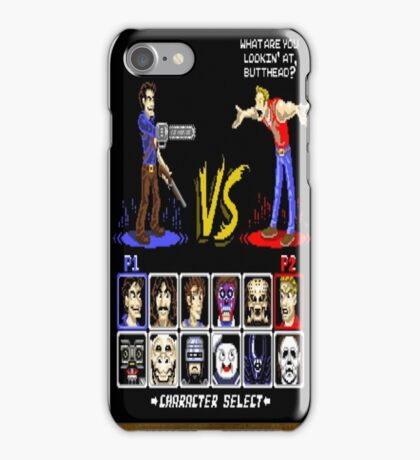 geeky character select iPhone Case/Skin