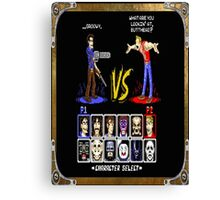 geeky character select Canvas Print