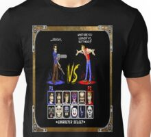 geeky character select Unisex T-Shirt
