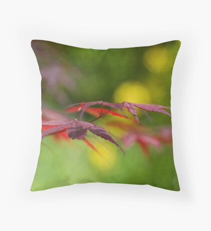 Nature in Profile Throw Pillow