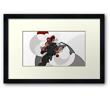 The Mysterious one Framed Print