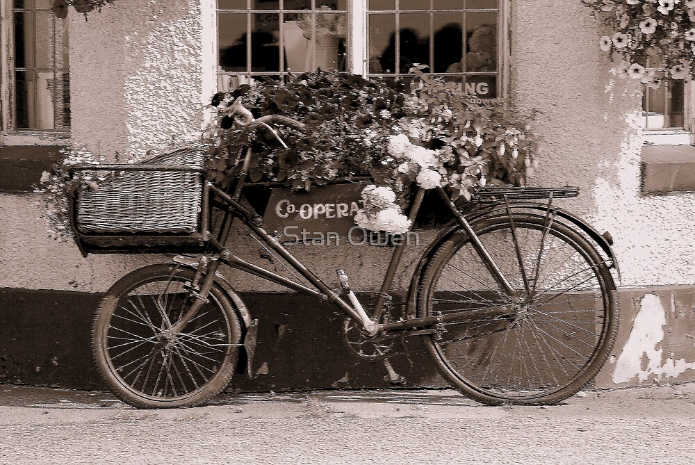 Utilized Bicycle. by Stan Owen
