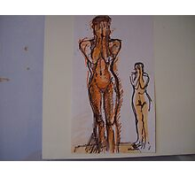NUDES Photographic Print