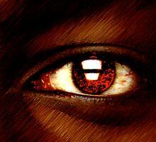 Werewolfe Eye by robertemerald