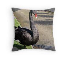 """Water Birds"" Throw Pillow"