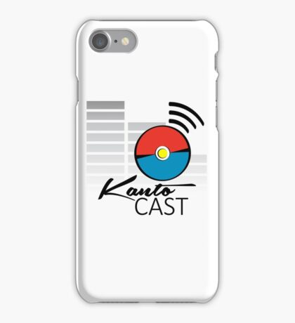 Kanto Cast Podcast iPhone Case/Skin