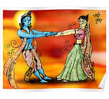 Radhe Krishna Poster