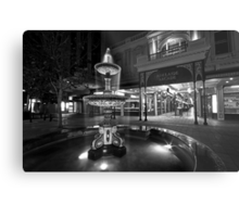Rundle Mall Fountain Metal Print