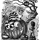 Alice and the Cheshire Cat, or A Very Merry Halloween in Wonderland by JELarson
