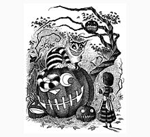 Alice and the Cheshire Cat, or A Very Merry Halloween in Wonderland Unisex T-Shirt