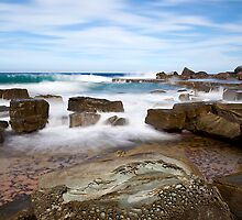 Forresters Beach Shutter and Exposure Blend by Matt  Lauder