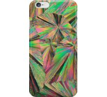 Gadolinium nitrate under the microscope iPhone Case/Skin