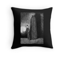 Visitations by Supernatural Someones of Unearthly Dispositions Throw Pillow