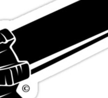 AR223 - black Sticker