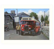Devon General AEC Regal Art Print