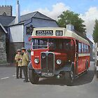 Devon General AEC Regal by Mike Jeffries