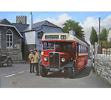 Devon General AEC Regal Photographic Print