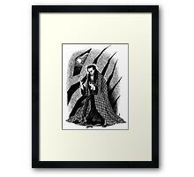 The Hands of Orlac Framed Print