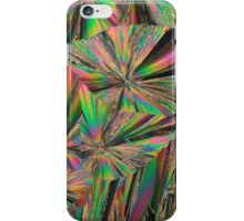 Gadolinium nitrate crystals under the microscope iPhone Case/Skin