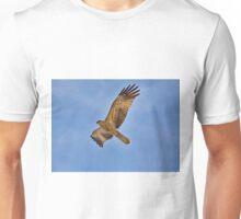 Whistling Kite Over Patonga Creek Unisex T-Shirt