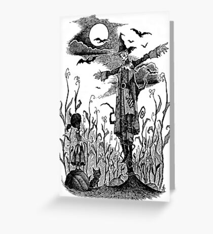 The Scarecrow of Oz Greeting Card