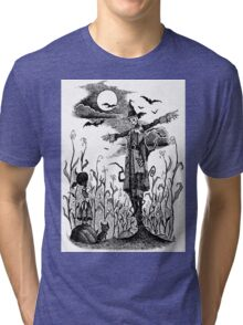 The Scarecrow of Oz Tri-blend T-Shirt