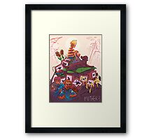 WELCOME TO MOTHER 3 Framed Print