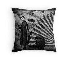 Le Ventilateur de non-Sequitur No.1 Throw Pillow