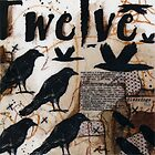 Crow Count Twelve by ladycrow4