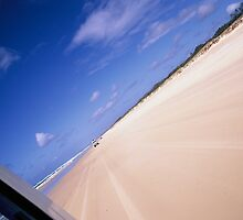 Moreton Island by 4WD by Louise Marlborough
