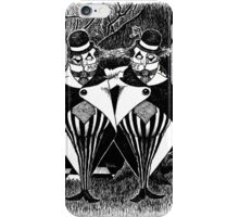 Tweedledum and eedeldeewT iPhone Case/Skin