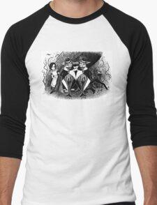 Tweedledum and eedeldeewT Men's Baseball ¾ T-Shirt