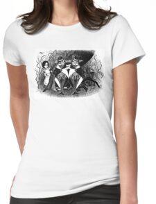 Tweedledum and eedeldeewT Womens Fitted T-Shirt