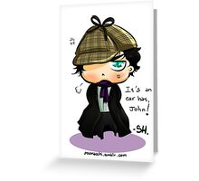 CHIBIBATCH - Ear Hat Greeting Card