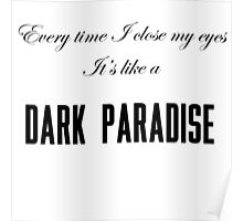 Dark Paradise Poster