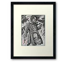 Time War Eighth Doctor Framed Print