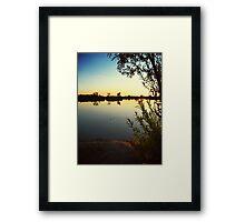 Reflective Solitude Framed Print