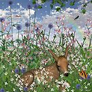 Among The Flowers VI by Barbara A. Boal