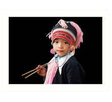 HILLTRIBE GIRL - VIETNAM Art Print