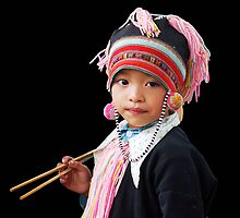 HILLTRIBE GIRL - VIETNAM by Michael Sheridan