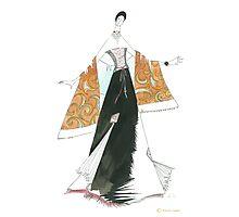 Golden shawl. Photographic Print